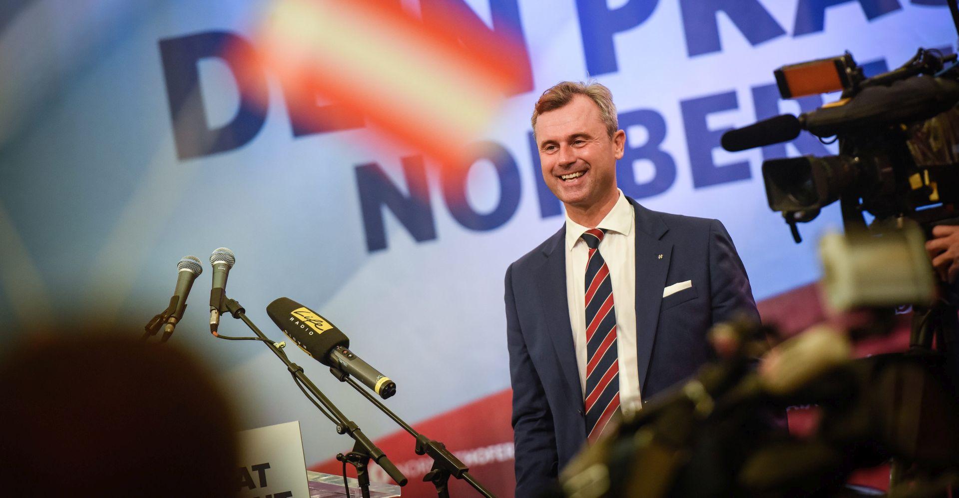 IZBORI U AUSTRIJI: Kandidat krajnje desnice ohrabren Trumpovom pobjedom