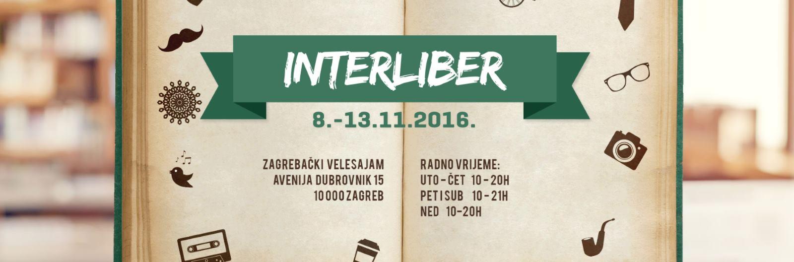 INTERLIBER 2016 Proučite program događanja i književne novitete