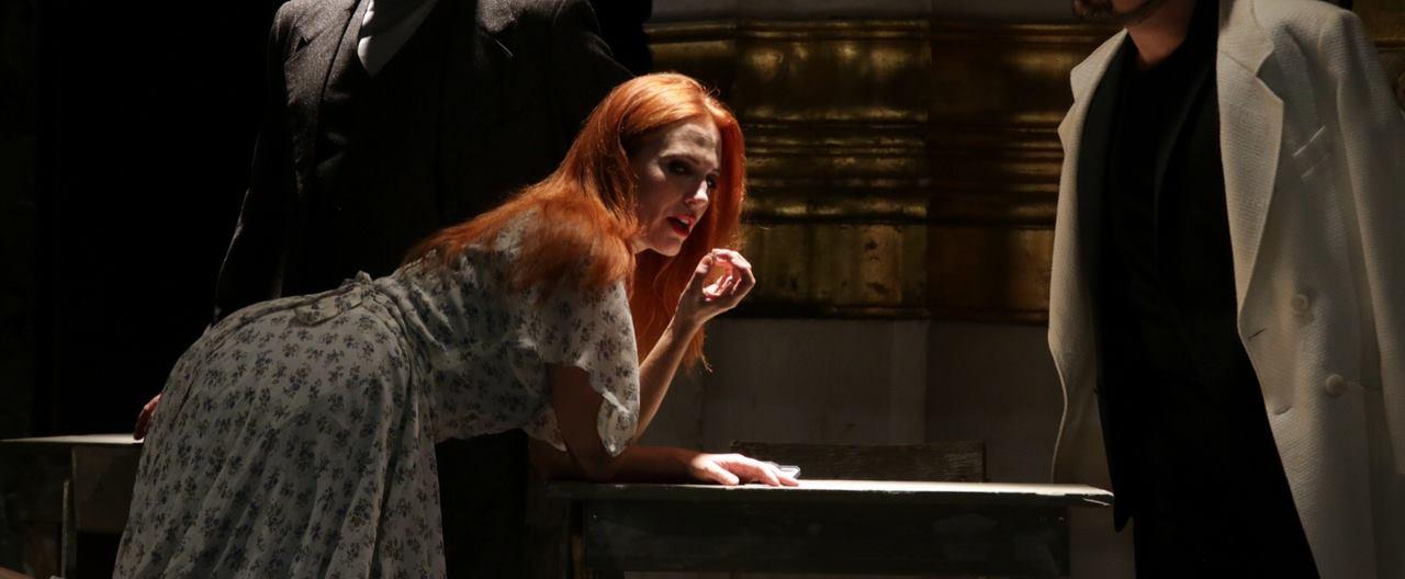 FOTO: HNK IVANA PL. ZAJCA Premijera komedije 'La locandiera/Gostioničarka Mirandolina' u režiji Paola Magellija