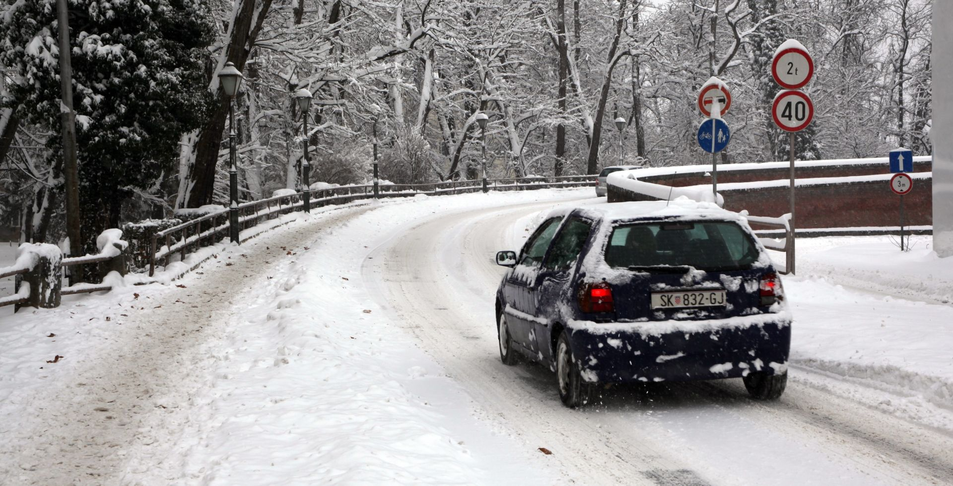 Cestari i interventne službe spremne za zimske uvjete na cestama