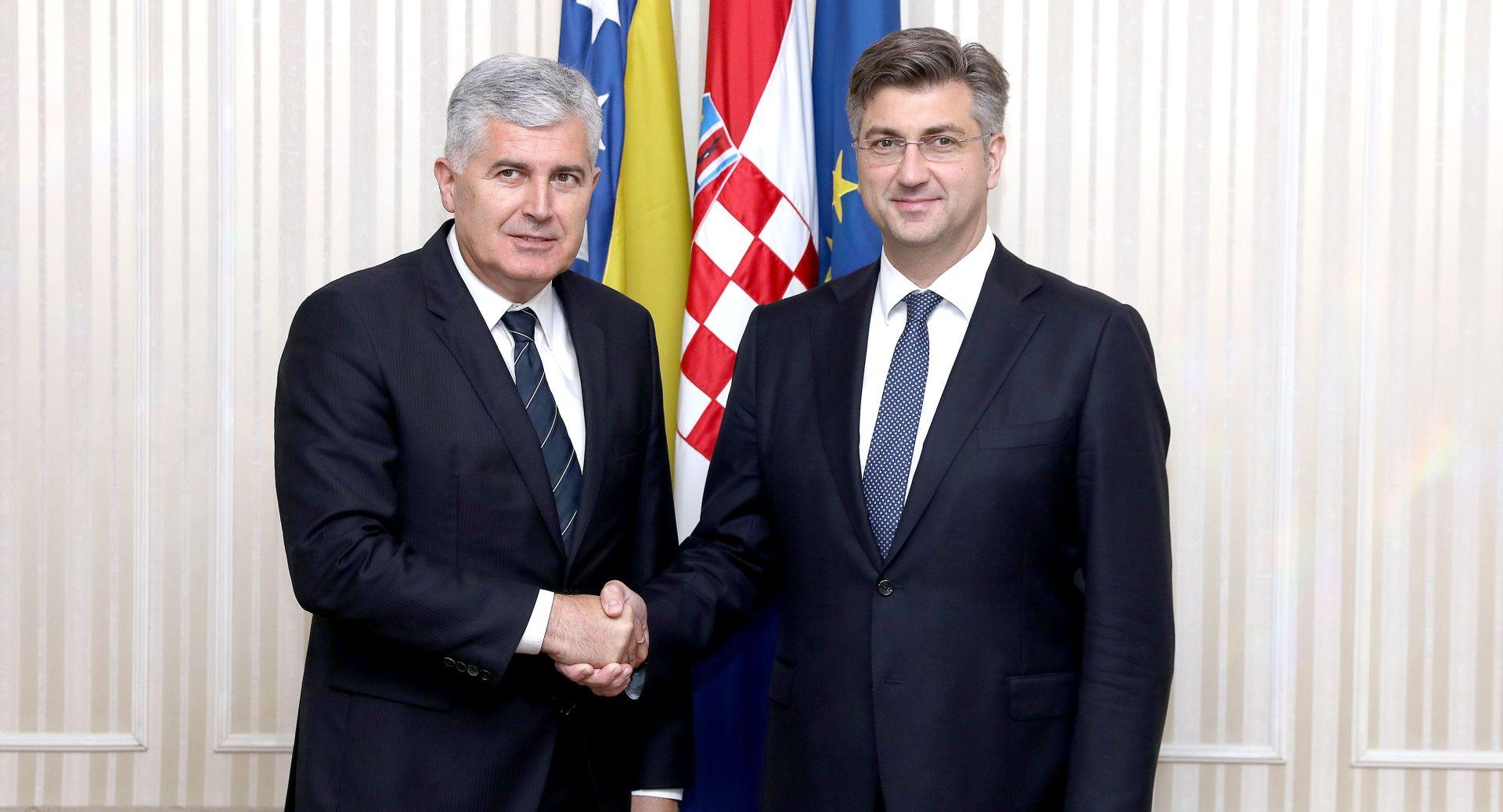 Plenković s Čovićem razgovarao o uhićenjima u Orašju