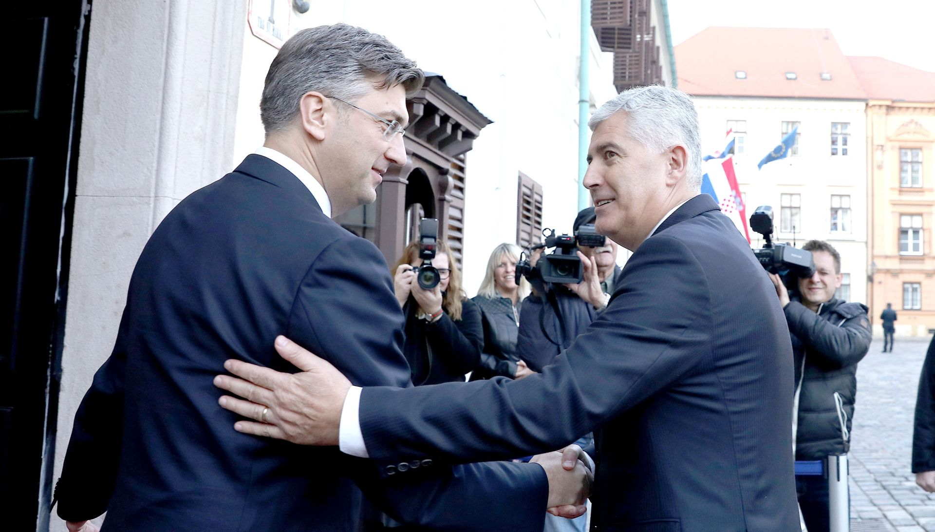 Plenković i Čović istaknuli da selektivan pristup nije prihvatljiv