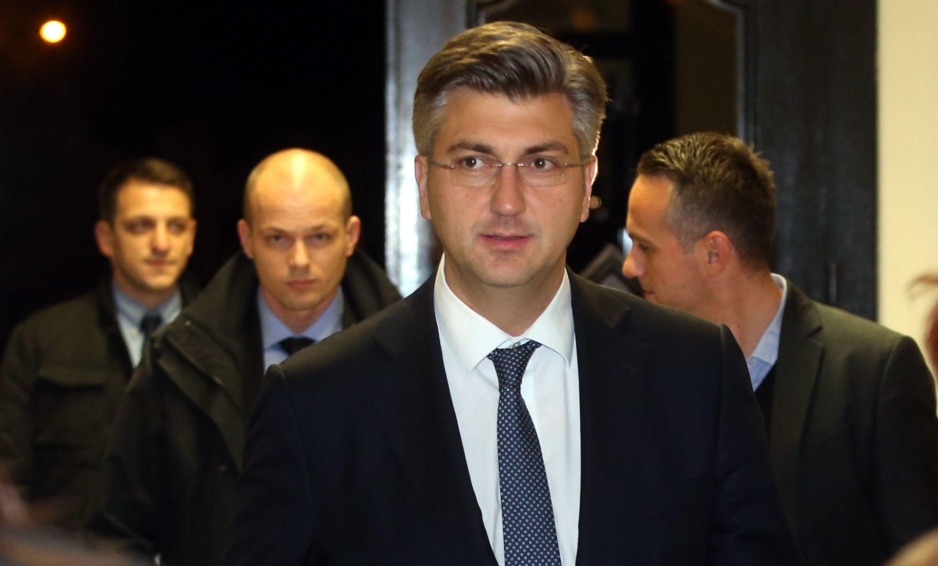 Plenković: Poduzet ćemo sve da dođe do konsenzusa pri usvajanju porezne reforme