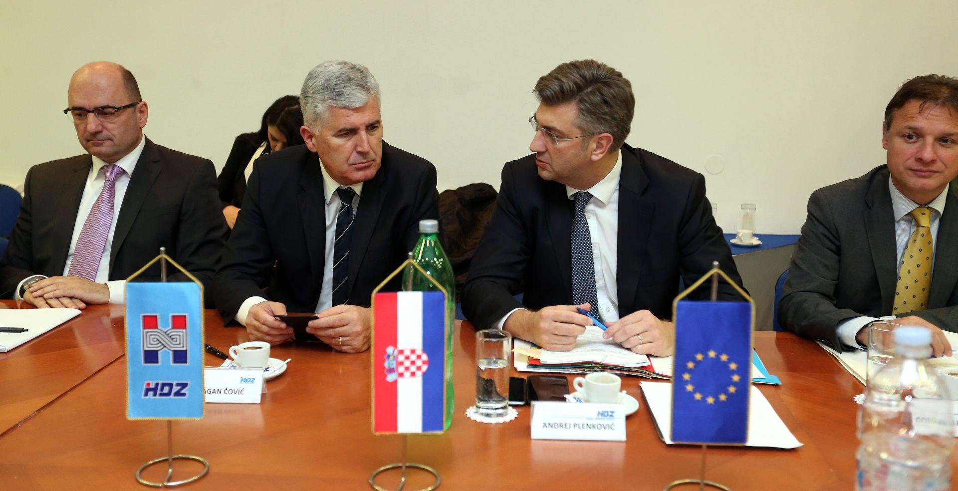Čović na Predsjedništvu i Nacionalnom vijeću HDZ-a o situaciji u BiH i Orašju