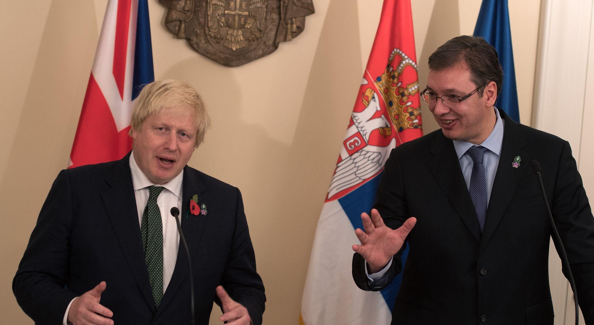 Johnson obećao potporu Srbiji u eurointegracijama iako Britanija izlazi iz Europoske unije