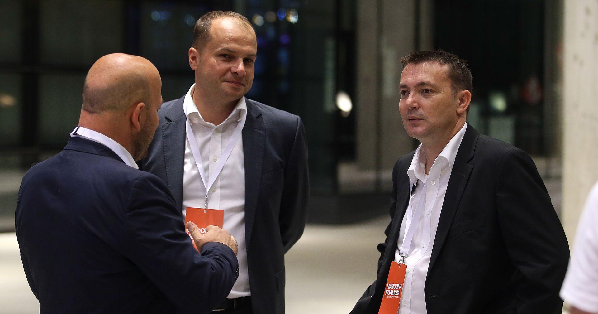 Bauk i Hajdaš Dončić očekuju 'dostojanstvenu kampanju' za predsjednika SDP-a