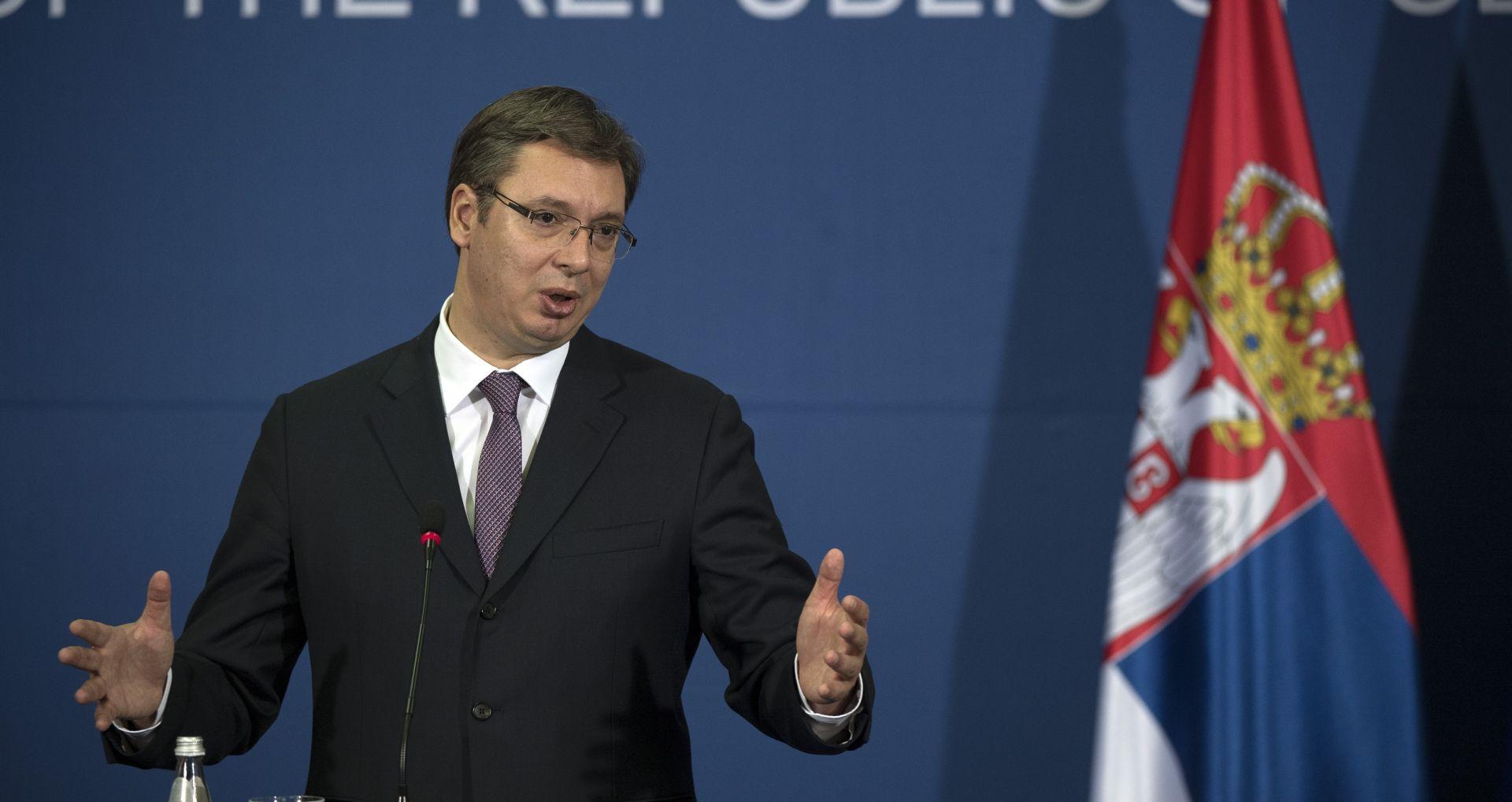 SRBIJA Vučić zabranio javno iznošenje podataka o incidentima s oružjem