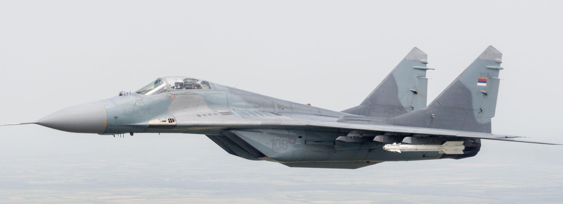 MORH Redovne letačke aktivnosti zrakoplova MIG-21, moguće probijanje zvučnog zida