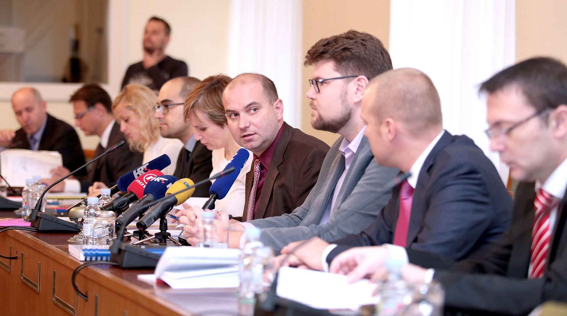 Odbor za Ustav rasporedio novac strankama i nezavisnim zastupnicima