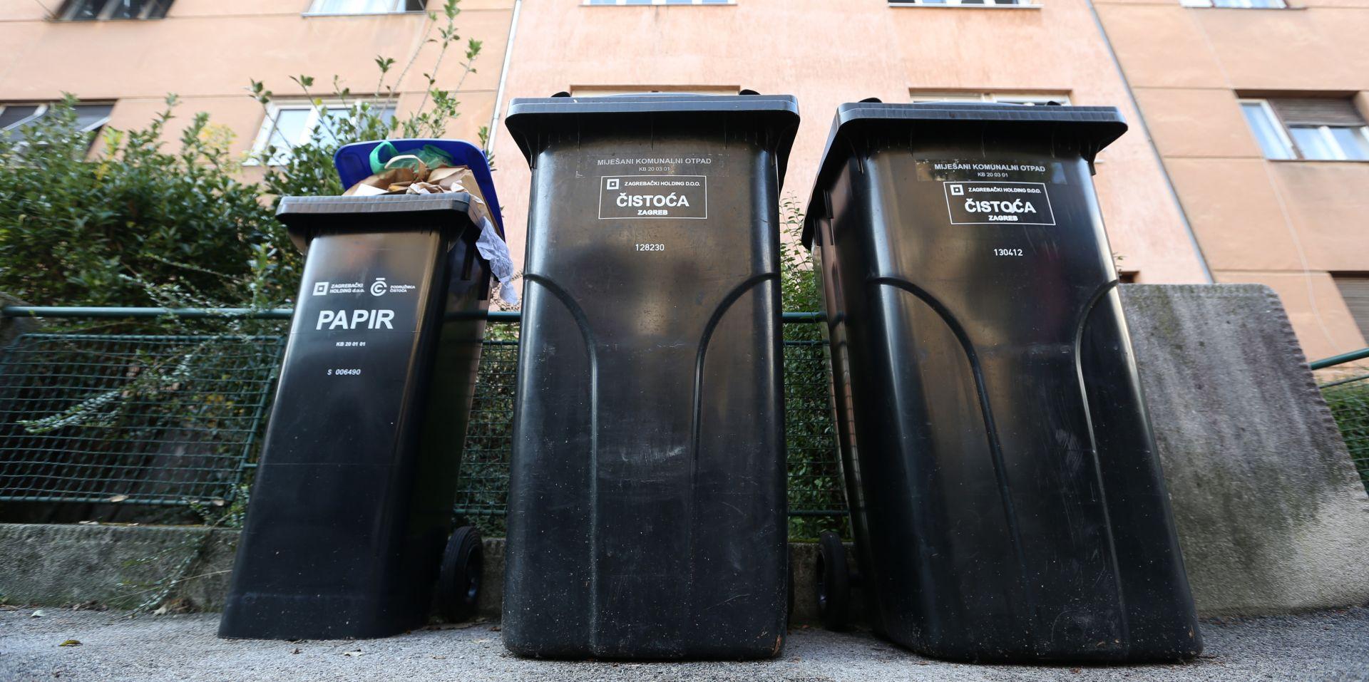 MOGU TUŽITI HOLDING Zagrepčani nezakonito plaćali prikupljanje i odvoz smeća