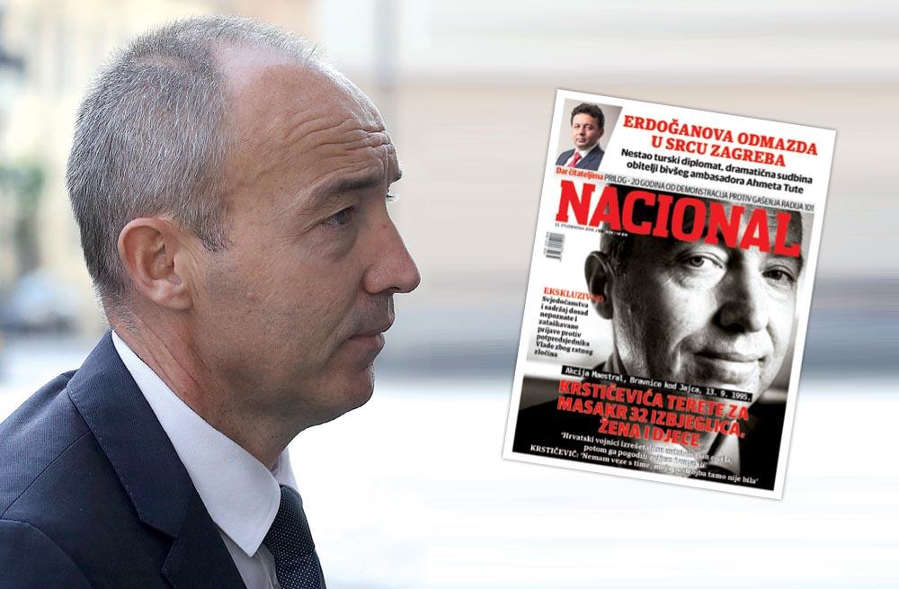 EKSKLUZIVNI DOKUMENTI Tajna izvješća HIS-a demantiraju prijave Dodikove policije protiv Damira Krstičevića
