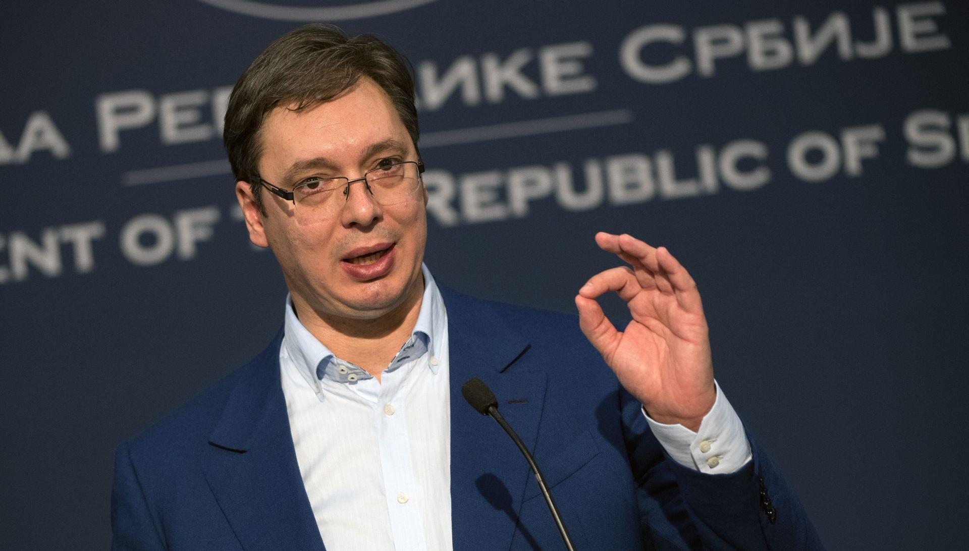 Vučić vjeruje da je vrijeme za bolje odnose Srbije i Hrvatske