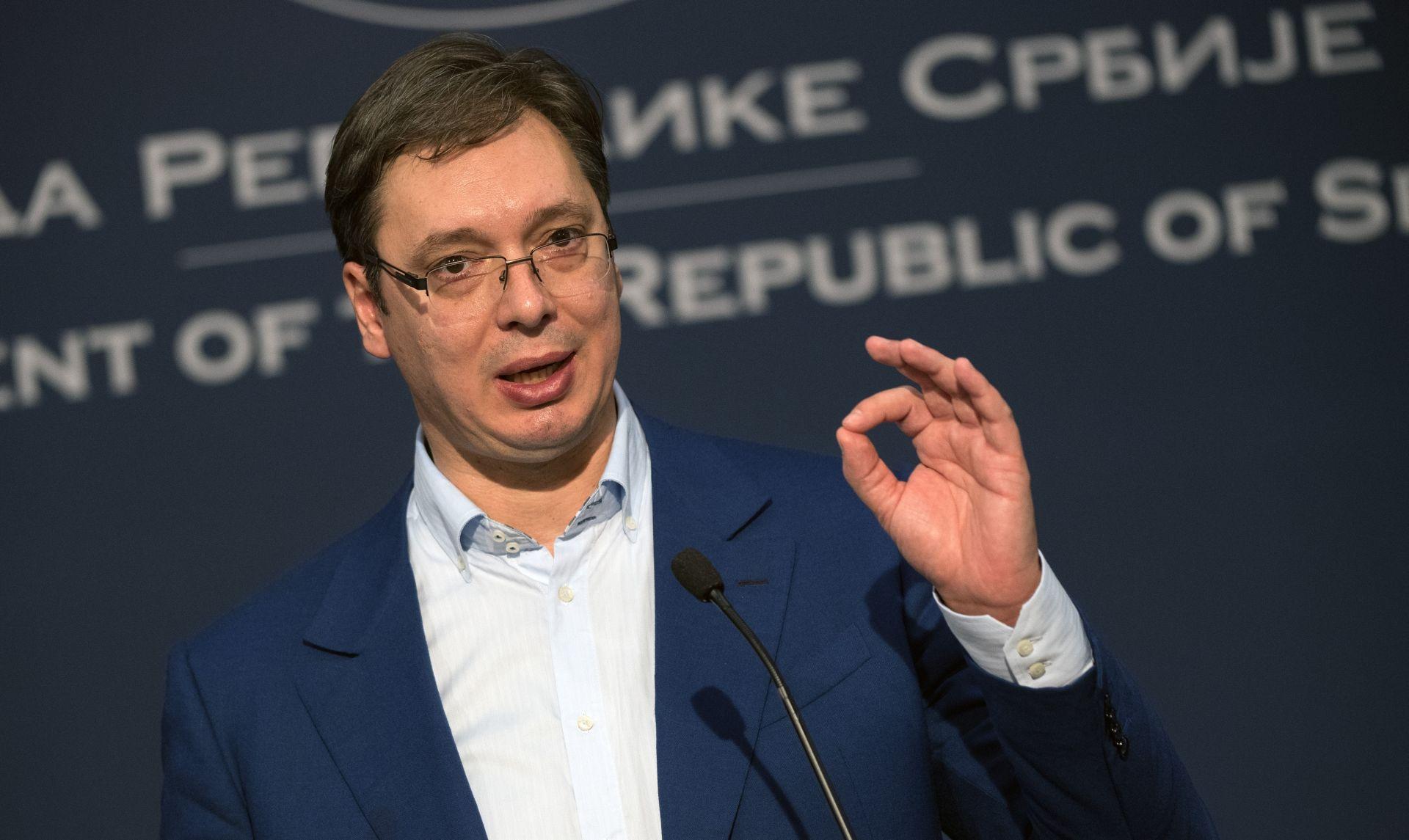 Pričom o atentatu Vučić širi atmosferu straha u Srbiji