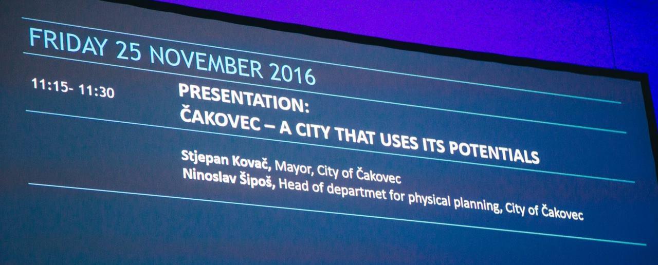 REXPO 2016 Grad Čakovec predstavio svoje investicijske potencijale