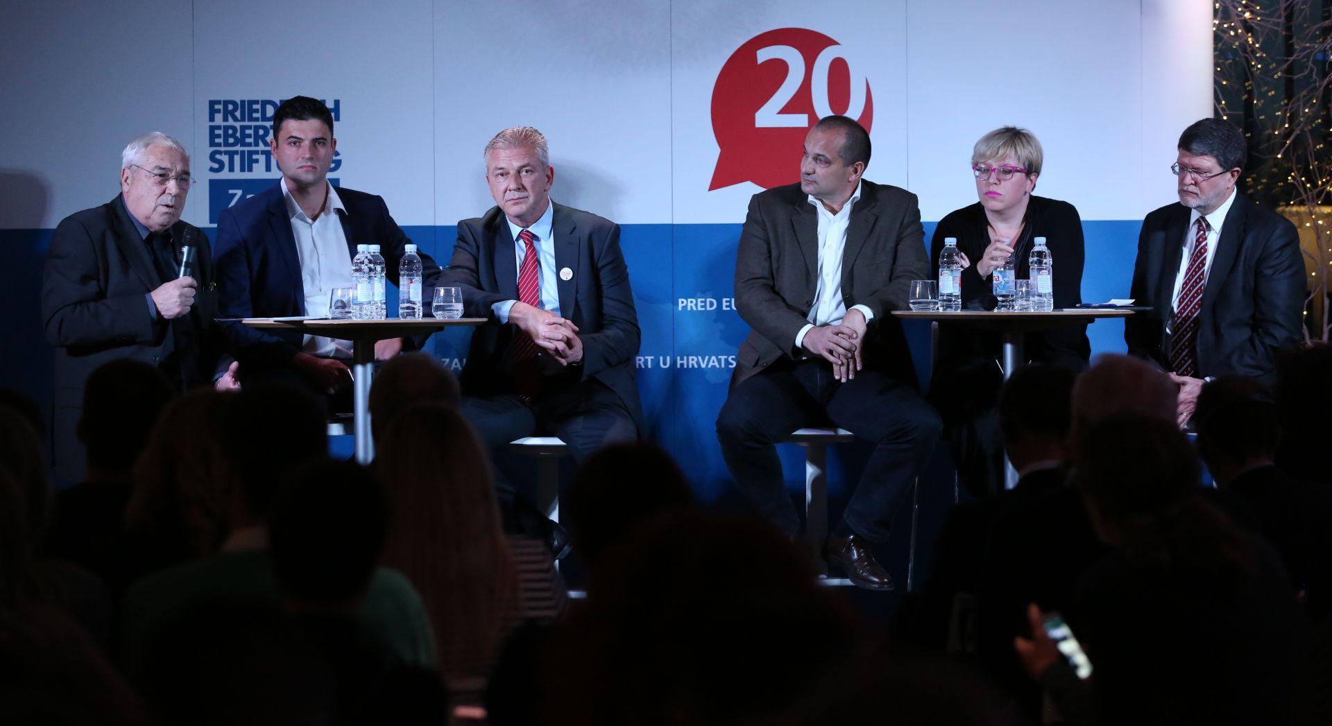 UNUTARSTRANAČKI IZBORI: Prva rasprava kandidata za predsjednika SDP-a