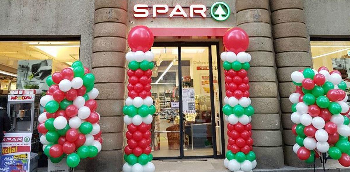 Na Trgu žrtava fašizma otvoren novi SPAR supermarket