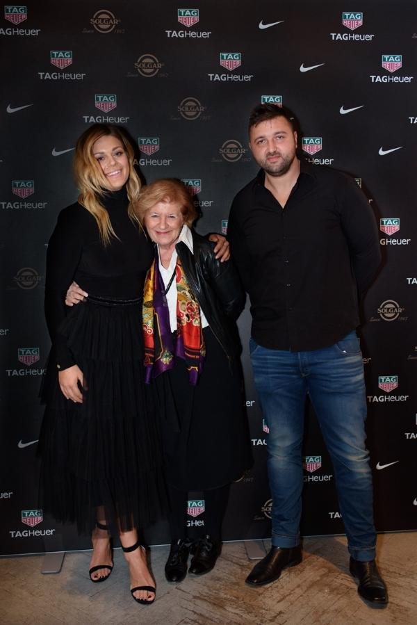 Sandra Perković, Mimi Vurdelja i Edis Elkasević