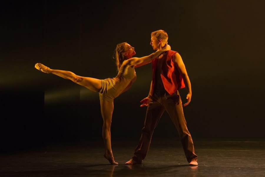 Prizor iz baleta Seven