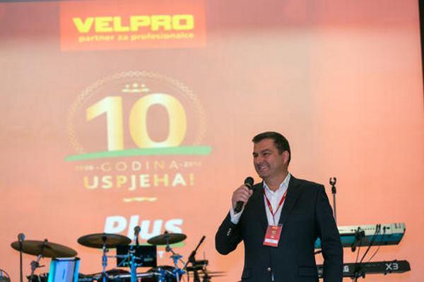 Dražen Kocijan, predsjednik Uprave kompanije VELPRO – CENTAR