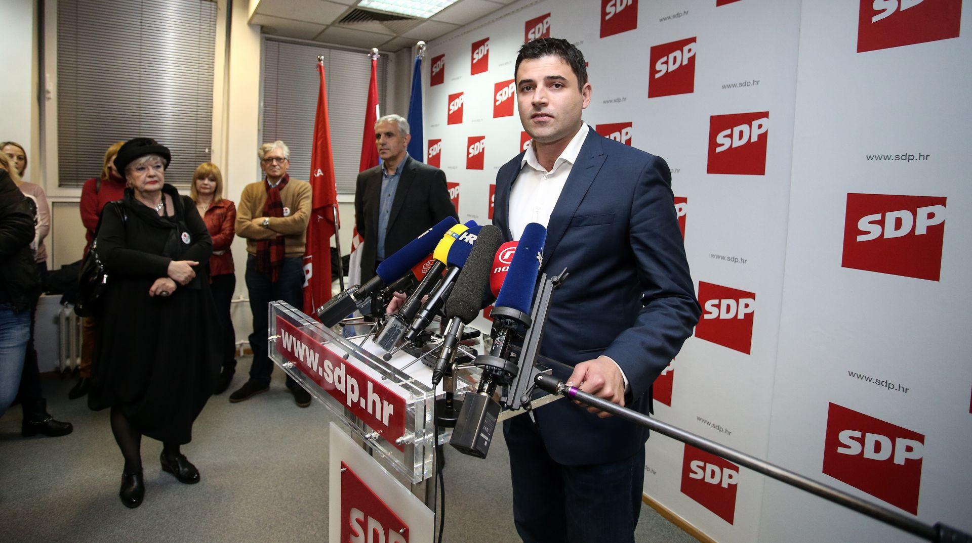 BERNARDIĆ O OSTOJIĆEVIM OPTUŽBAMA: 'Iznošenjem neistina pokušava se baciti ljaga na izborni proces u SDP-u'