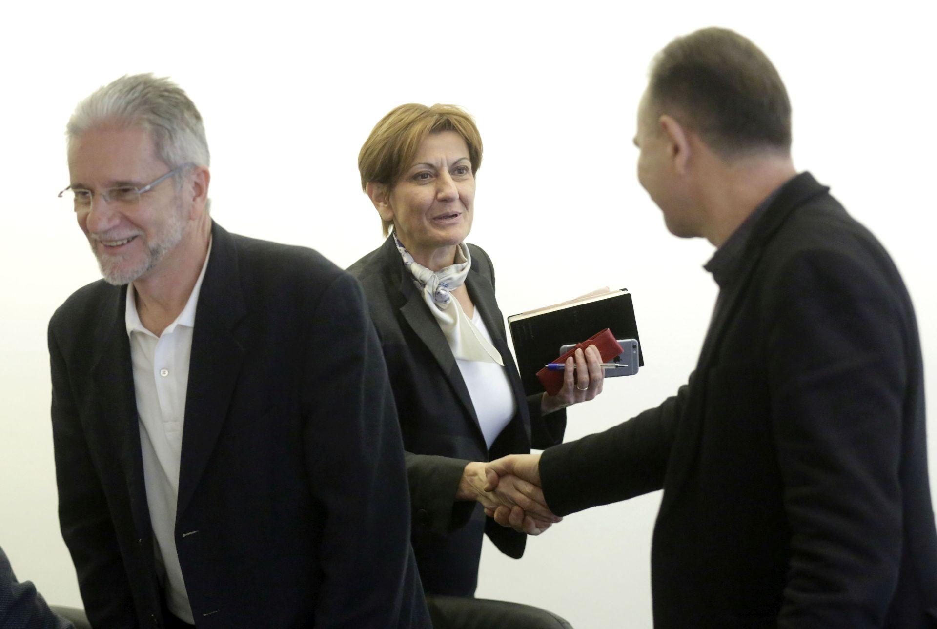 Ministrica Dalić razgovarala sa sindikatima o suradnji
