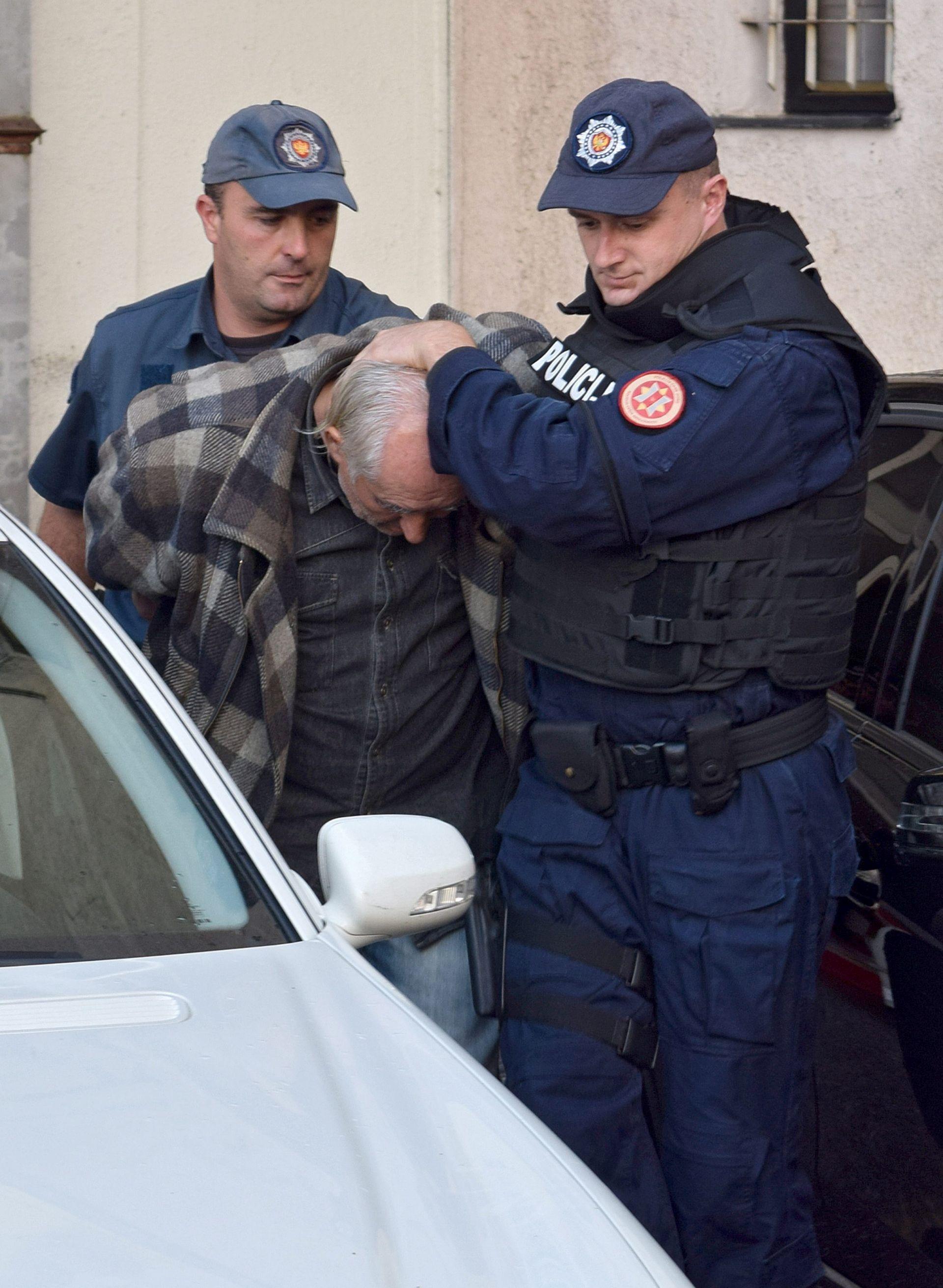 CRNA GORA: Produžen pritvor Dikiću i njegovoj skupini optuženoj za terorizam