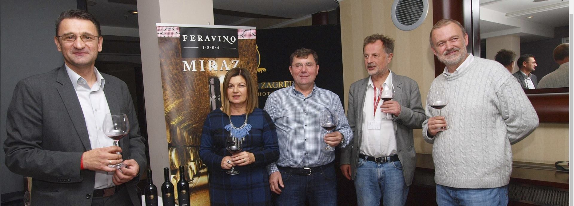 FOTO: FERAVINA Crno blago Slavonije – vina linije Miraz