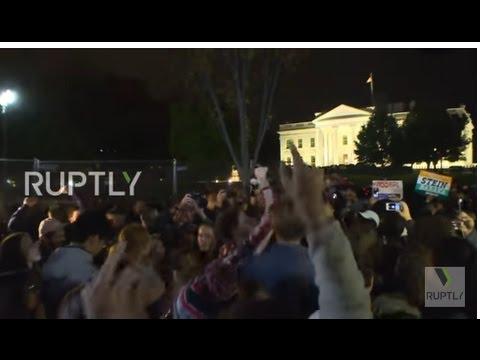 VIDEO Prosvjedi protiv Trumpa, studenti spalili američku zastavu