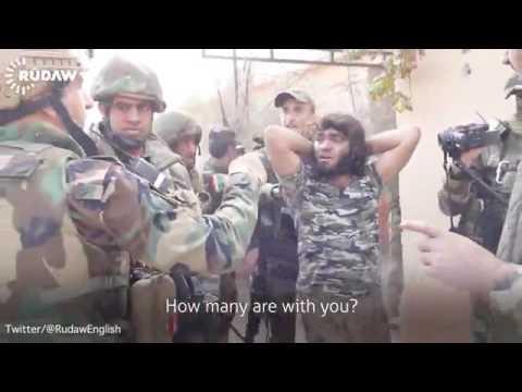 VIDEO Džihadist se predao nakon uvjeravanja kako ga neće ubiti