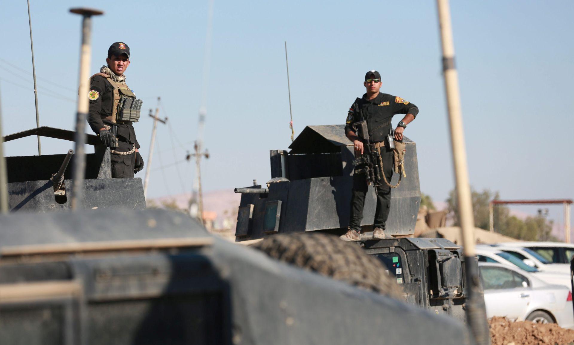 IRAK Borbe za posljednji grad prije Mosula