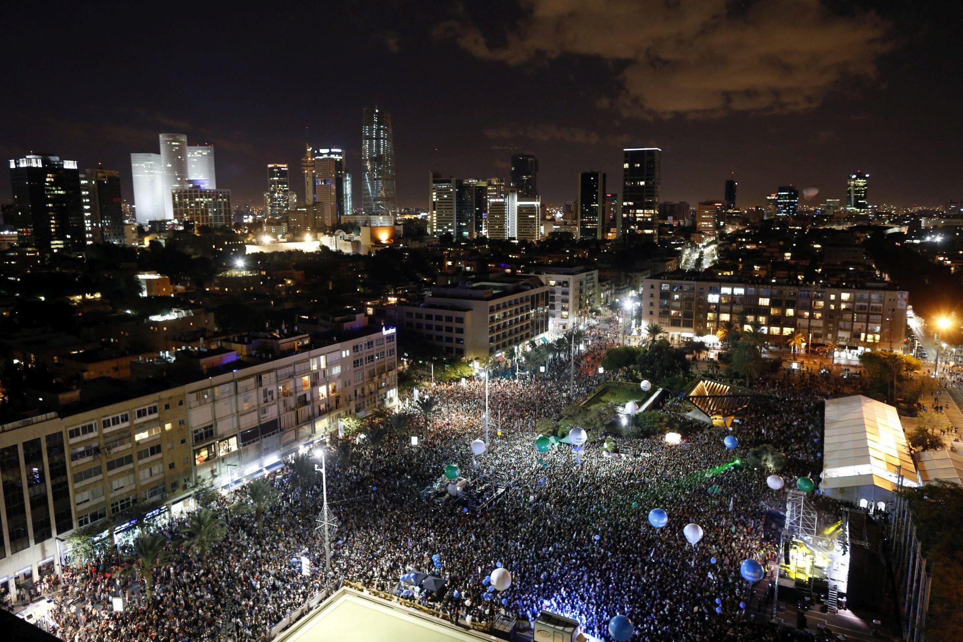 Deseci tisuća Izraelaca na godišnjem skupu za mir