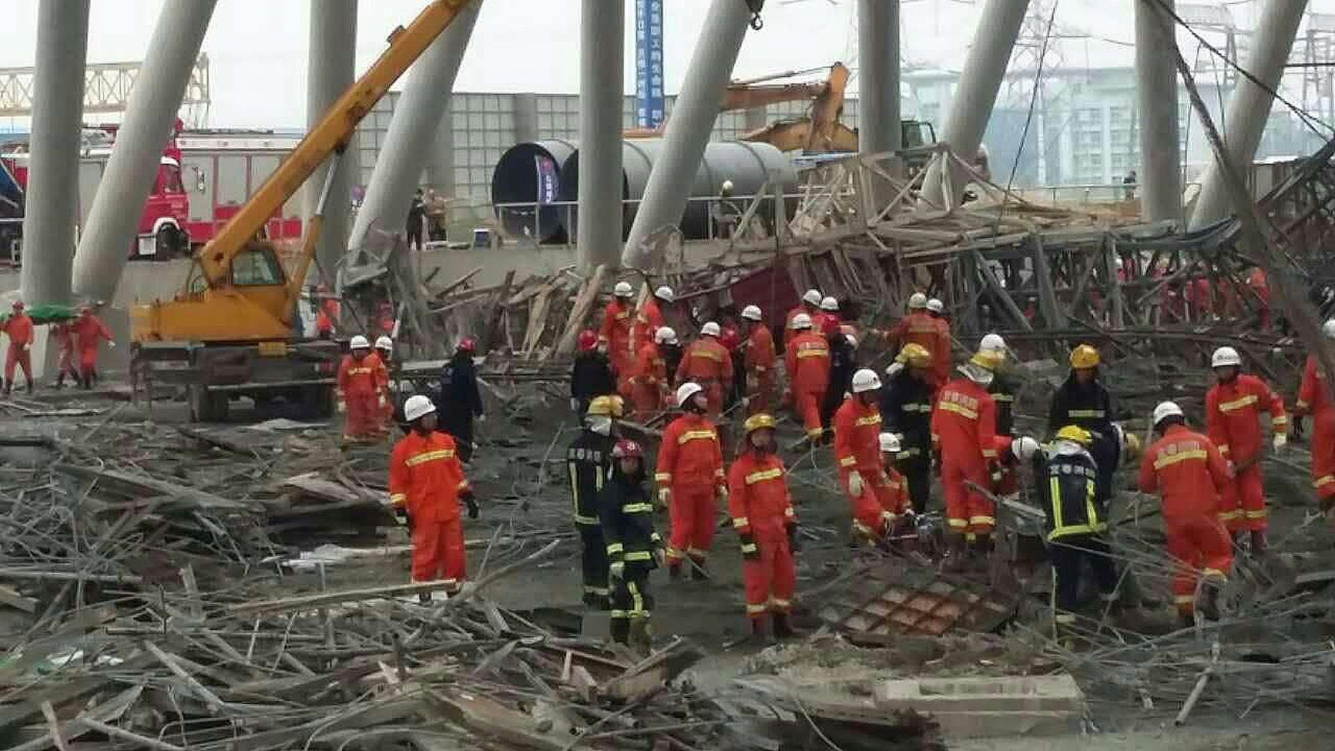URUŠILA SE PLATFORMA: Na gradilištu u Kini poginulo 67 ljudi