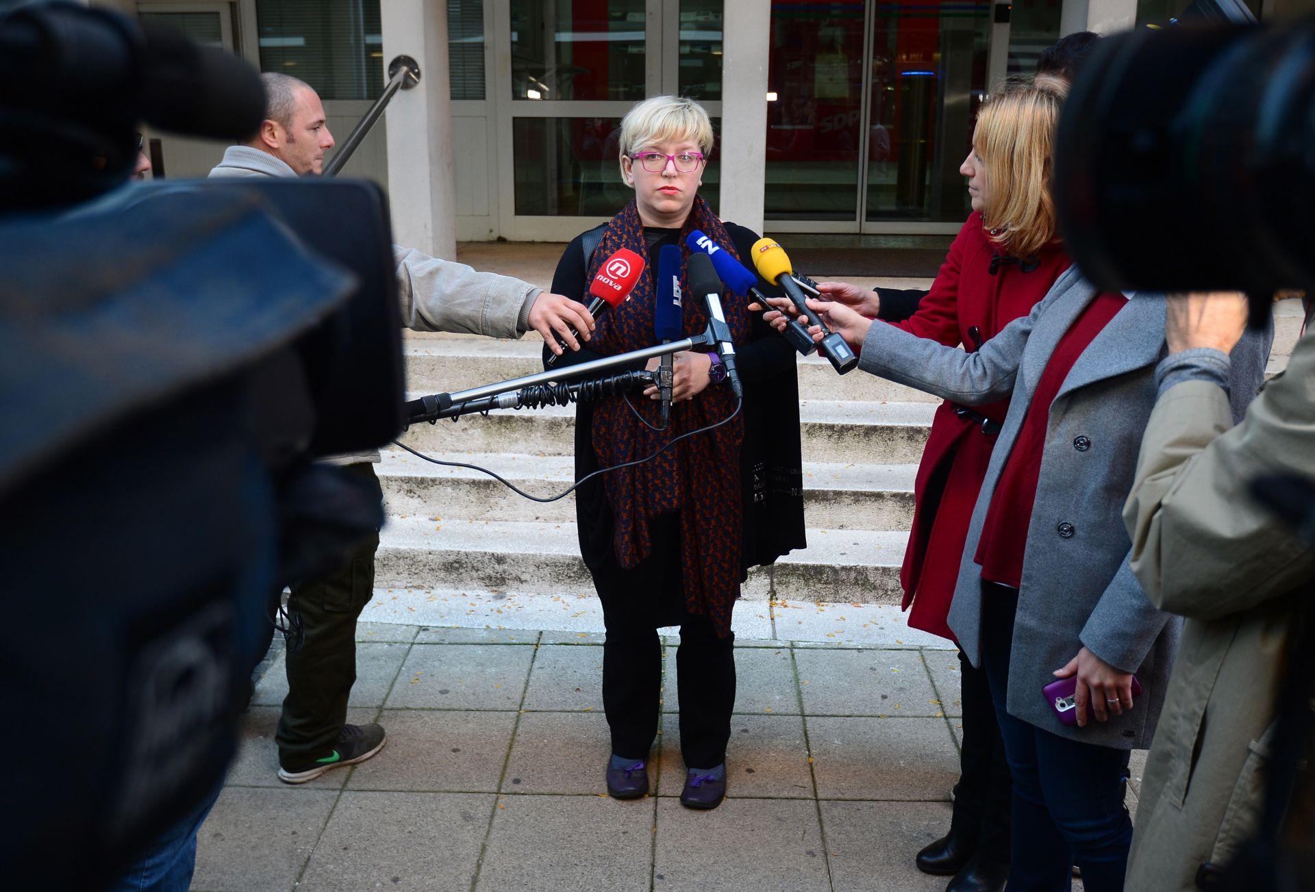 SDP: Karolina Leaković očekuje da će se novi čelnik izabrati u drugom krugu