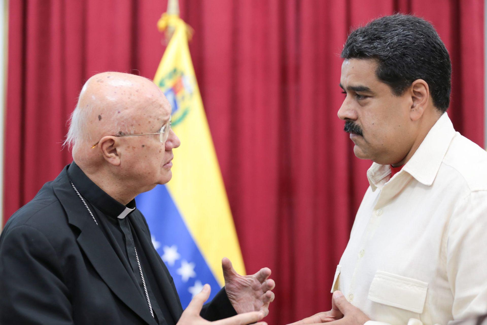 VENEZUELSKI PREGOVORI: Papin izaslanik strahuje od krvoprolića
