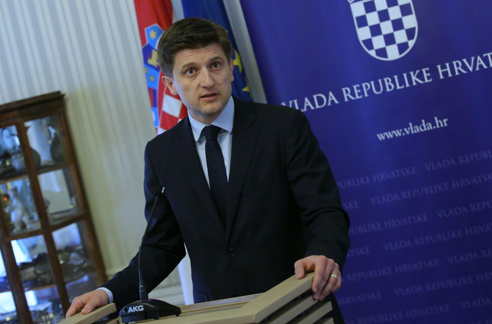 """MINISTAR MARIĆ: Predloženi proračun za iduću godinu je """"dobar i realan"""", u skladu s mogućnostima"""