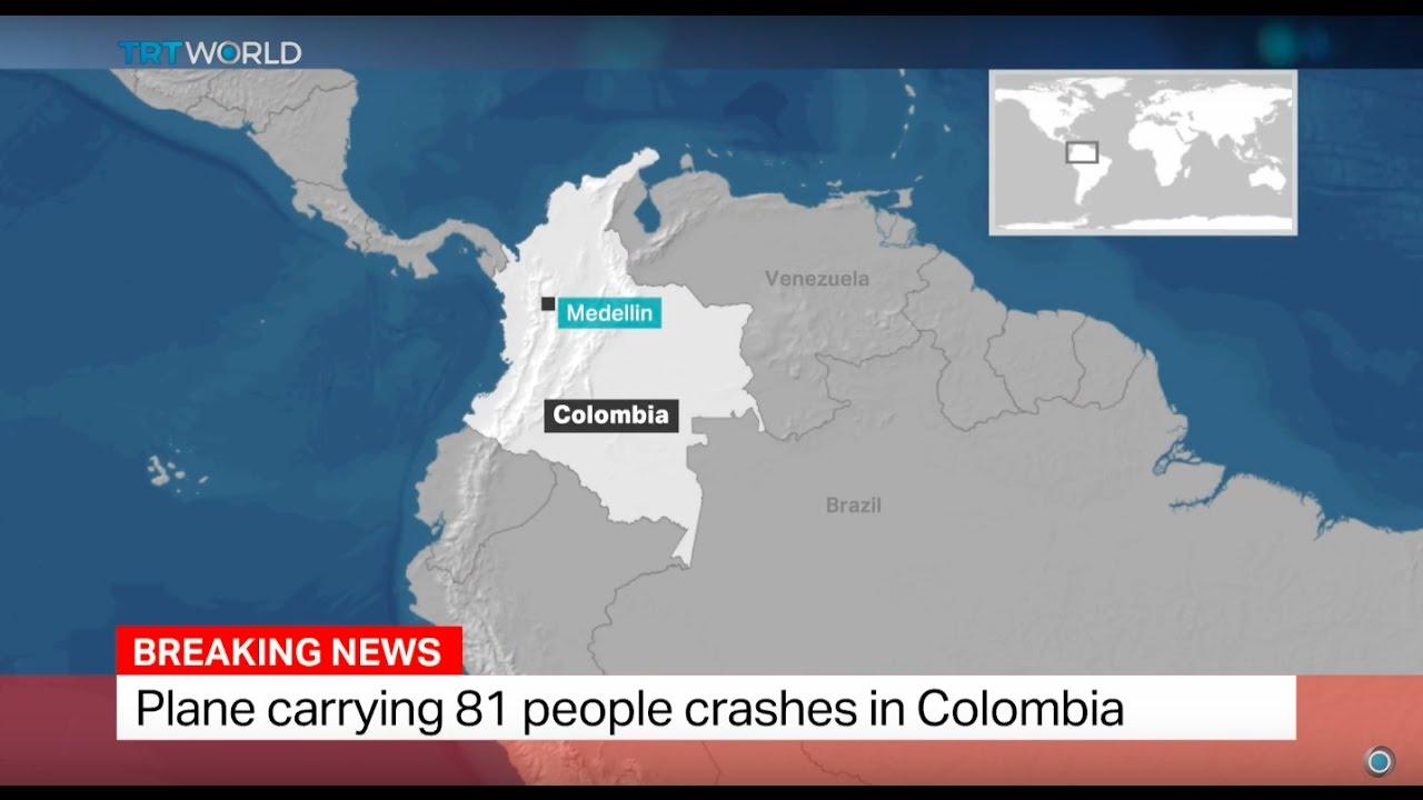 ZRAKOPLOVNA NESREĆA: Srušio se avion s brazilskim nogometašima, 76 mrtvih, pet preživjelih