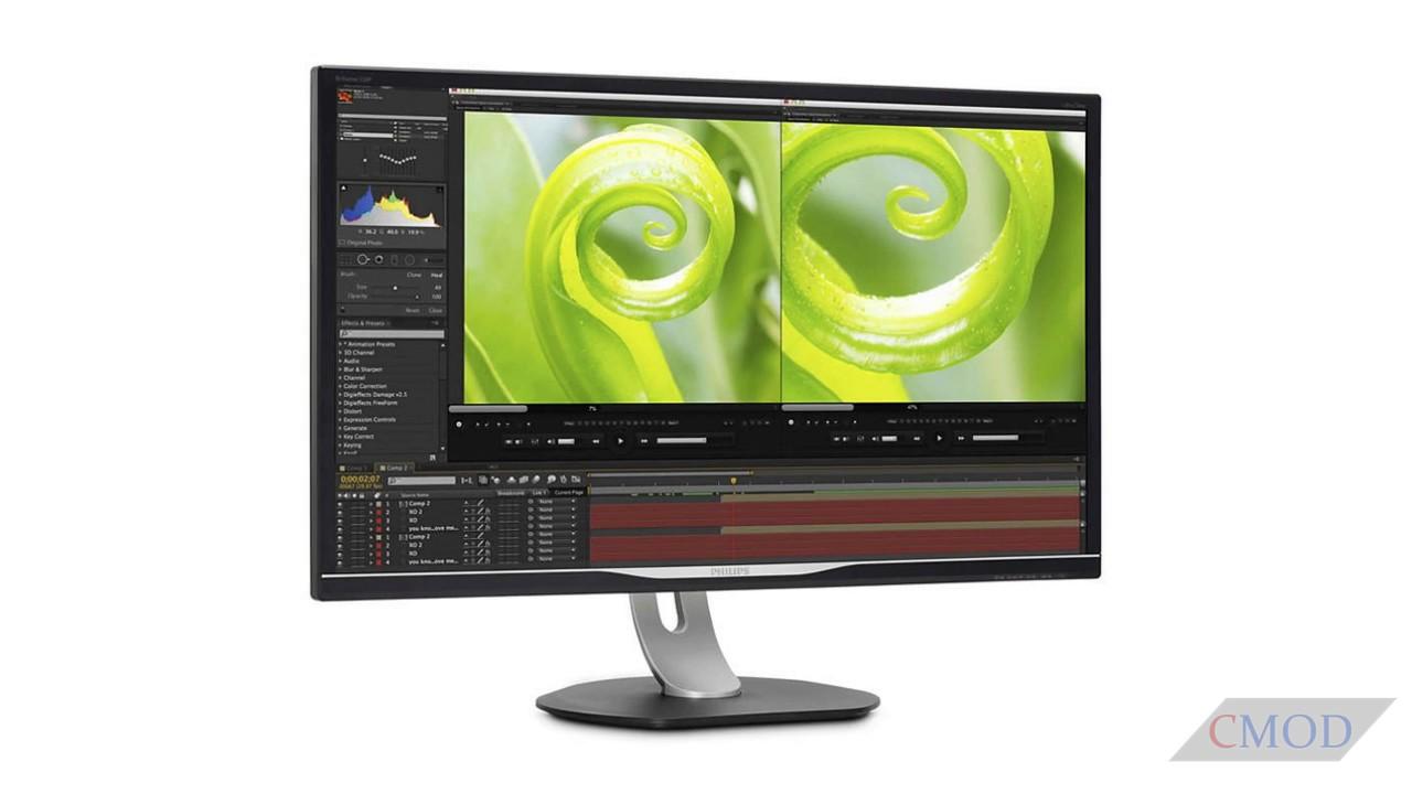 Monitor s UltraClear 4K rezolucijom za profesionalce
