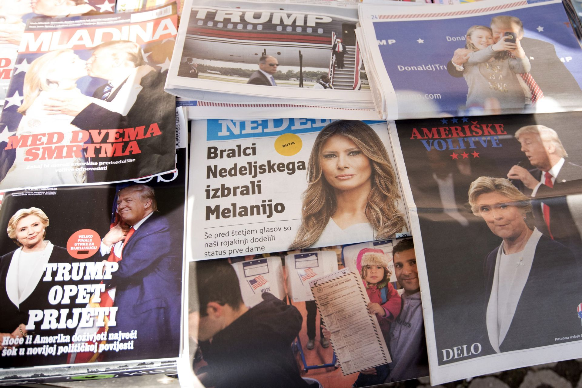 ANKETA POKAZALA: Melania Trump neće koristiti Sloveniji