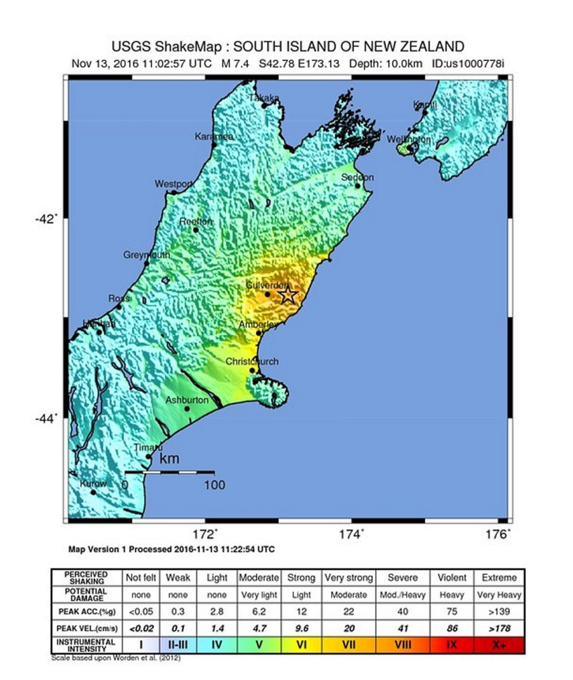 OPASNOST OD TSUNAMIJA: Potres magnitude 7,4 pogodio Novi Zeland,