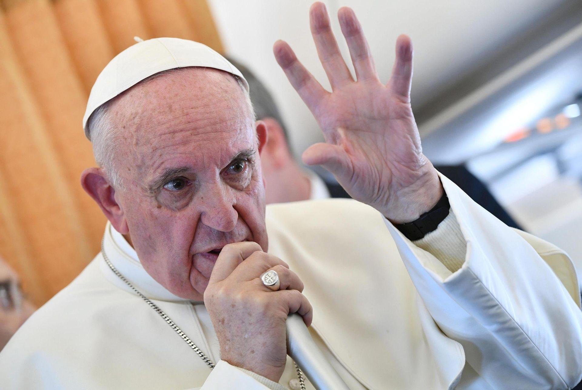 Papa će primiti Erdogana 2. veljače