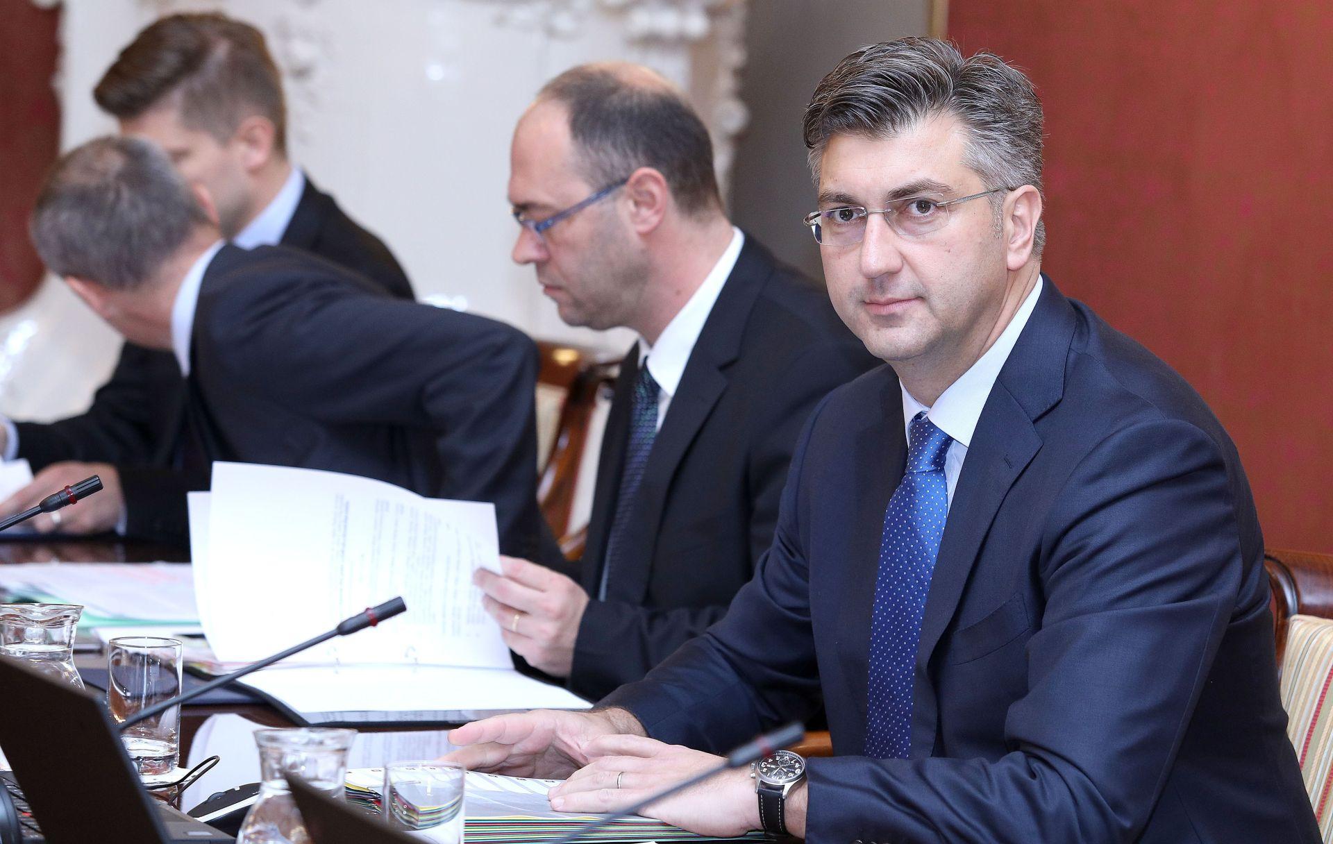 PREMIJER PLENKOVIĆ: 'Cijela Vlada stoji iza porezne reforme'
