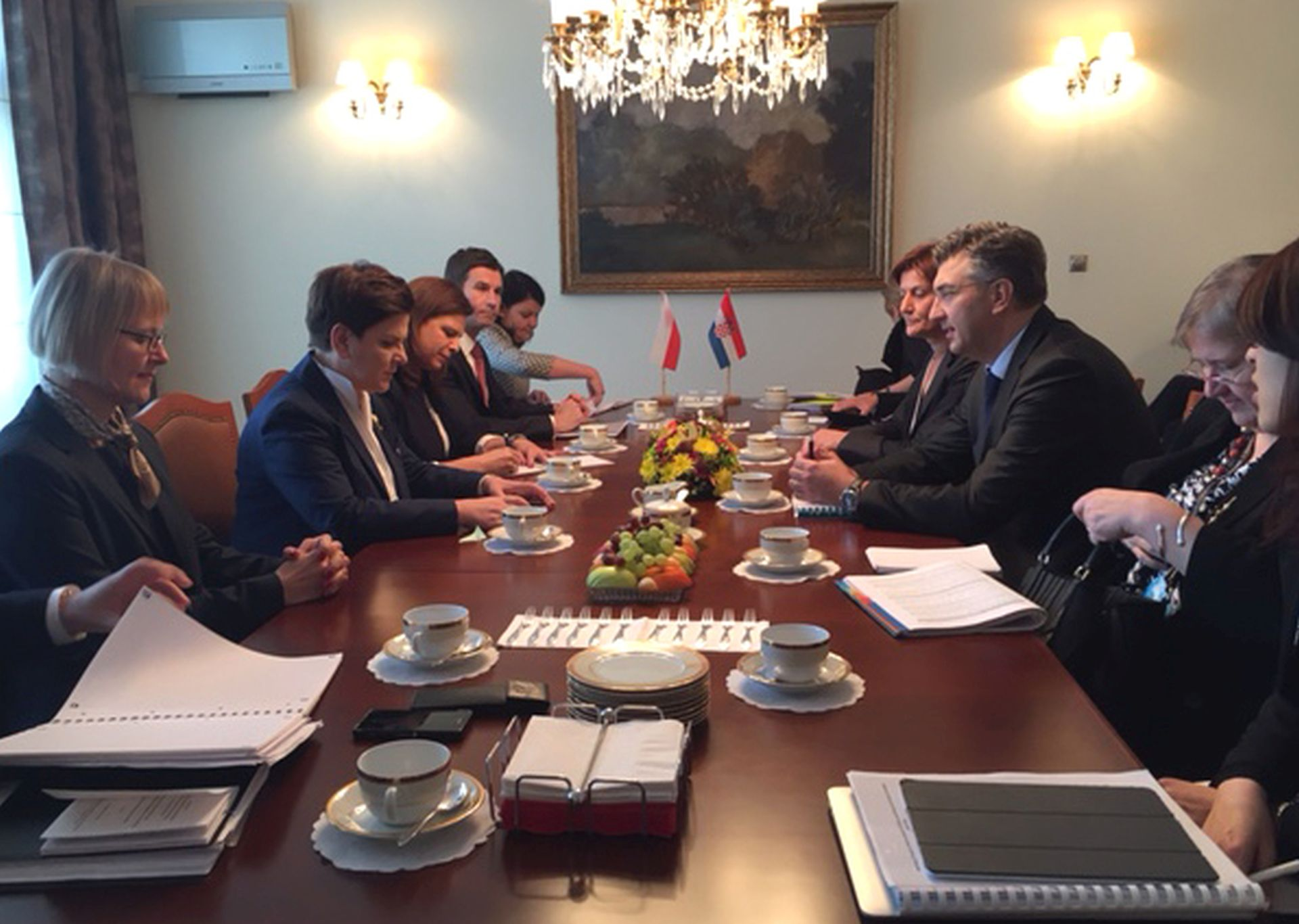 PLENKOVIĆ I SZYDLO: Hrvatska i Poljska mogu bolje gospodarski surađivati