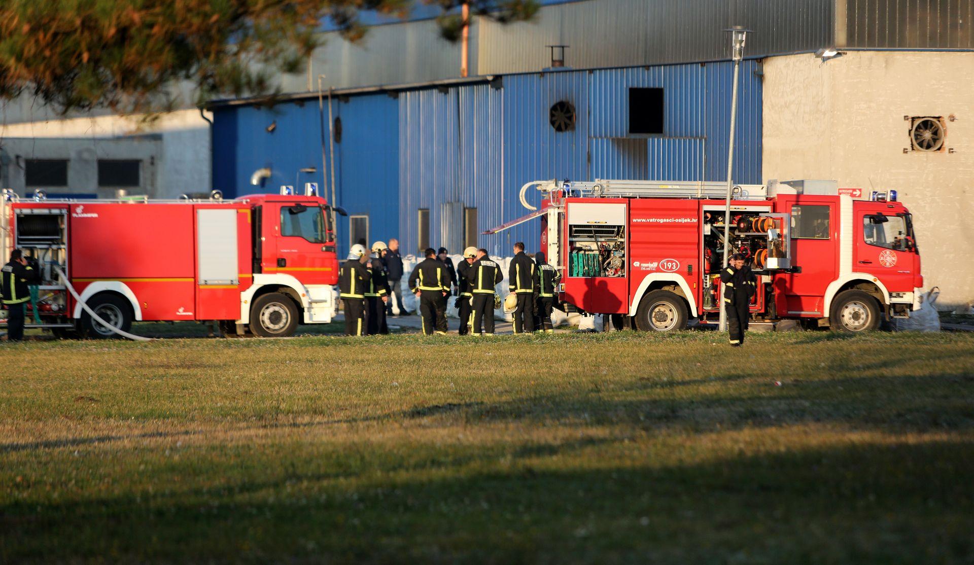 UGAŠEN POŽAR: Zapalila se goriva tekućina u Drava internationalu, djelatnik lakše ozlijeđen