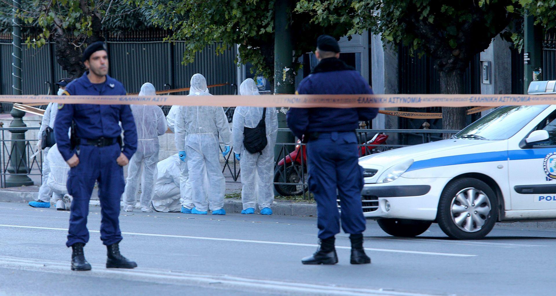 ATENA Bačena granata ispred francuskog veleposlanstva