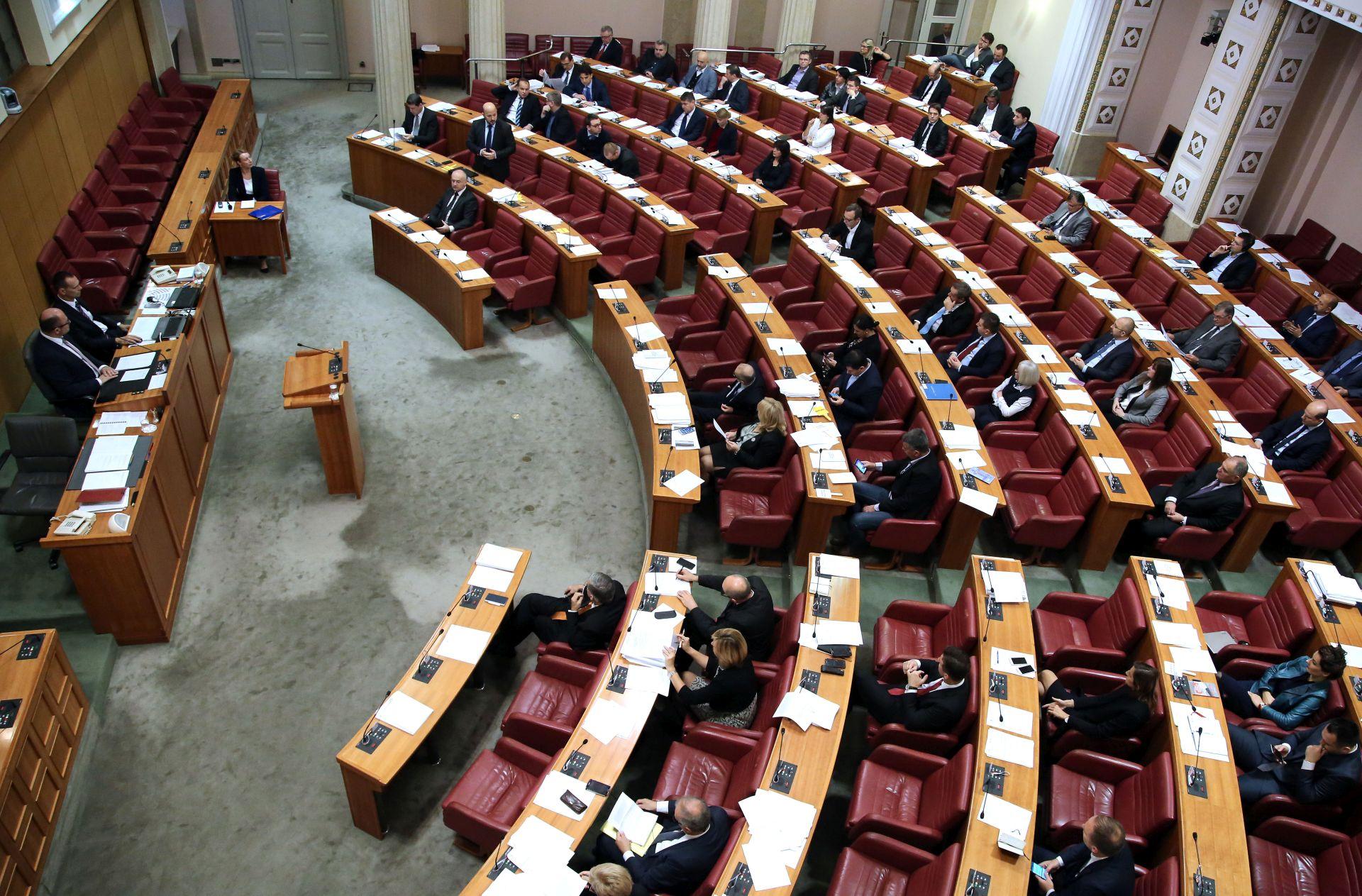 Porezna reforma u drugom čitanju na dnevnom redu Sabora