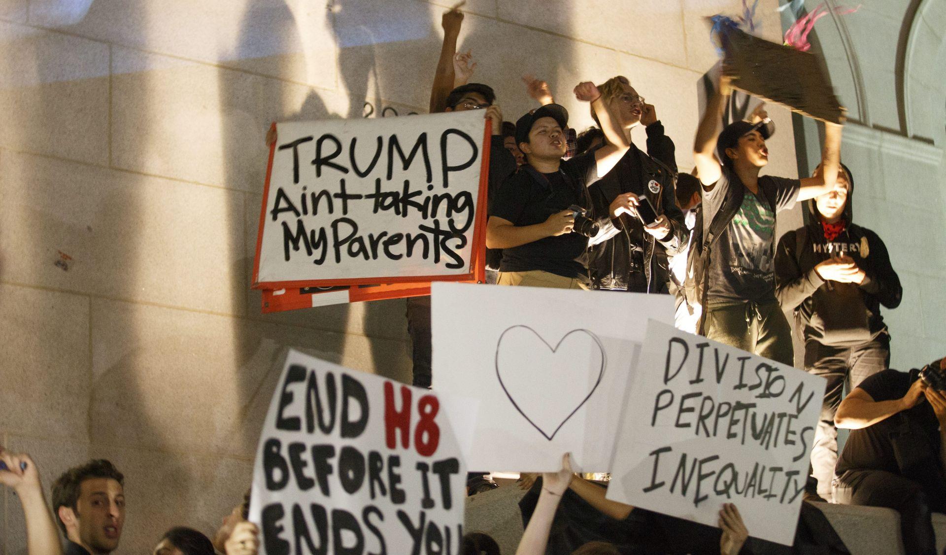 NOVI PROSVJEDI: Stotine protiv Trumpa u gradovima SAD-a