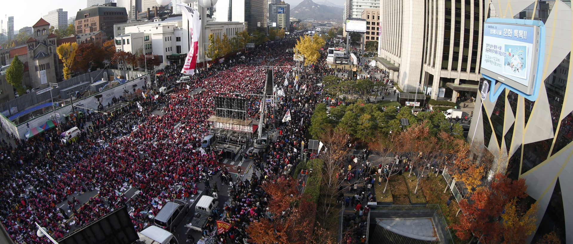 Milijun ljudi u Seulu traži ostavku predsjednice
