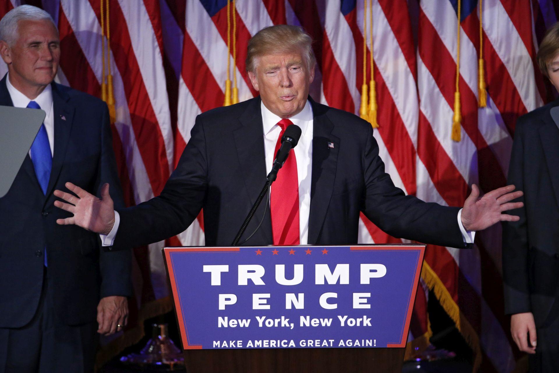 DONALD TRUMP: 'Bit ćete ponosni na svog predsjednika, vrijeme je da se ujedinimo kao nacija'