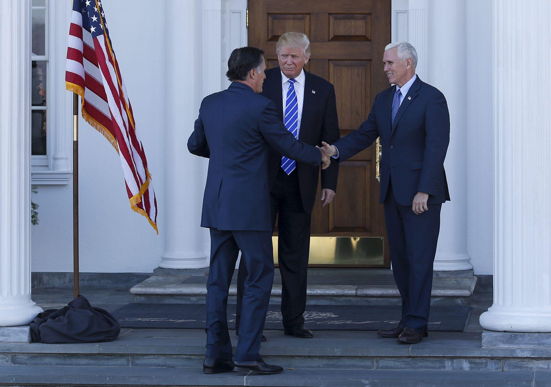 TRUMP I ROMNEY: Sastanak s bivšim suparnikom, mogućim kandidatom za šefa diplomacije