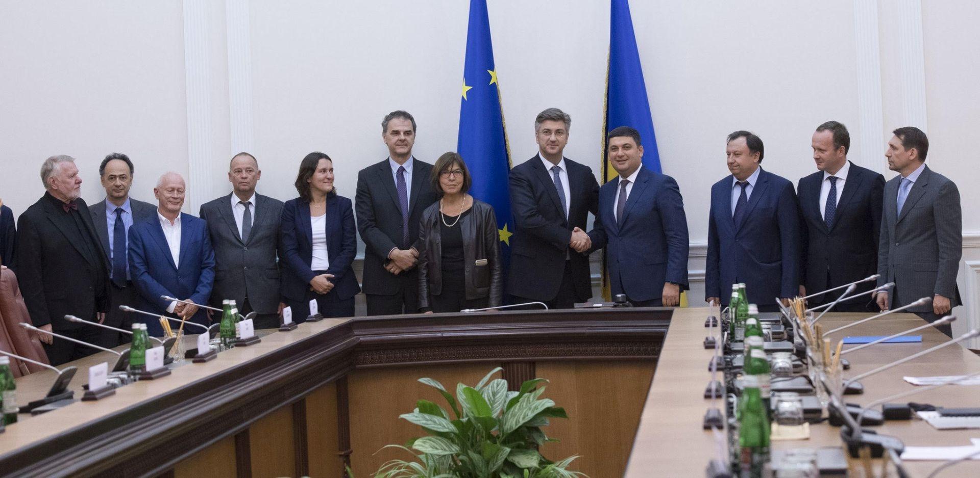 GOSPODARSKA SURADNJA: Premijer Plenković u posjetu Ukrajini